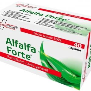 Alfalfa Forte 40 capsule, FarmaClass