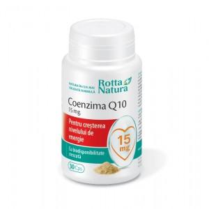 Coenzima Q10, 15 mg, 30 capsule, Rotta Natura