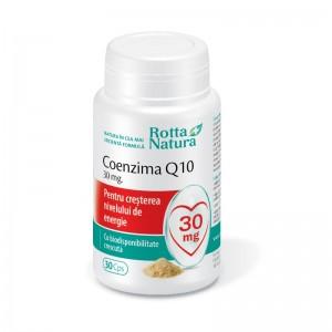 Coenzima Q10, 30mg, 30 capsule, Rotta Natura