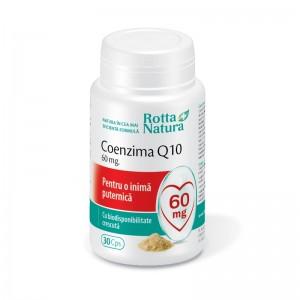 Coenzima Q10 60mg, 30 capsule, Rotta Natura