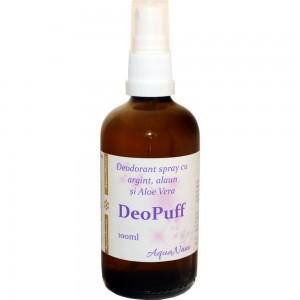 Deodorant Spray DeoPuff 100ml, Aghoras