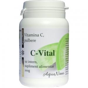 C-Vital Vitamina C naturala pulbere 100g, Aghoras