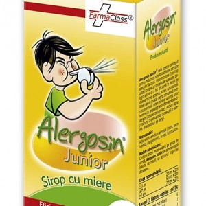 Sirop Alergosin Junior, 100 ml, FarmaClass