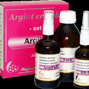 ArgiKit set cu argint coloidal 30ppm, Aghoras