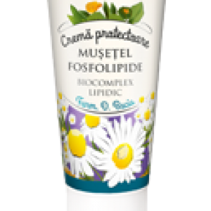 Crema protectoare Musetel si Fosfolipide 50ml, Plafar Impex