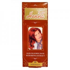 Balsam Colorant pentru Par Henna Sonia Nr.10 - Rosu Rodie 75g, Kian Cosmetics