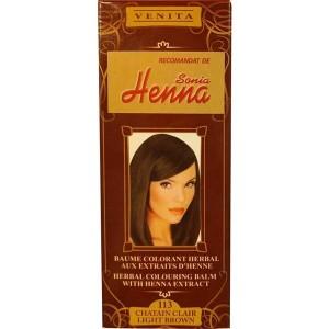 Balsam Colorant pentru Par Henna Sonia Nr.113 - Saten deschis 75g, Kian Cosmetics