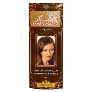 Balsam Colorant pentru Par Henna Sonia Nr.114 - Saten auriu 75g, Kian Cosmetics