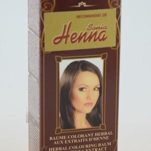 Balsam Colorant pentru Par Henna Sonia Nr.115 - Ciocolatiu 75g, Kian Cosmetics