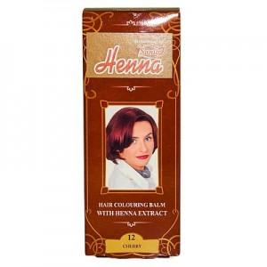 Balsam Colorant pentru Par Henna Sonia Nr.12 - Cherry 75g, Kian Cosmetics