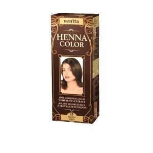 Balsam Colorant pentru Par Henna Sonia Nr.15 - Saten inchis 75g, Kian Cosmetics