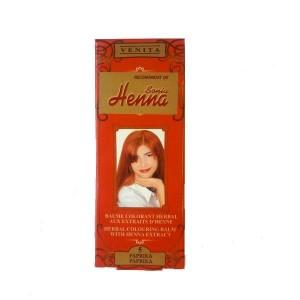 Balsam Colorant pentru Par Henna Sonia Nr.5 - Paprika 75g, Kian Cosmetics