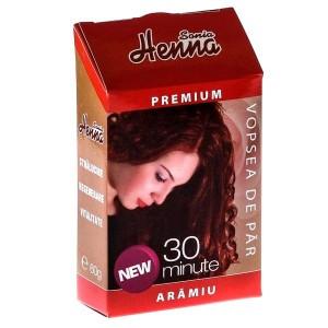 Vopsea par Henna Premium Aramiu 60g, Kian Cosmetics