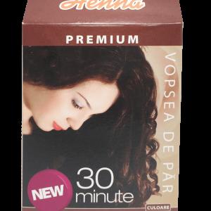Vopsea par Henna Premium Castaniu 60g, Kian Cosmetics