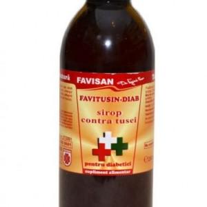 FaviTusin Diab sirop 250ml, Favisan