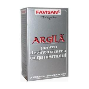 Argila pulbere 100g, Favisan
