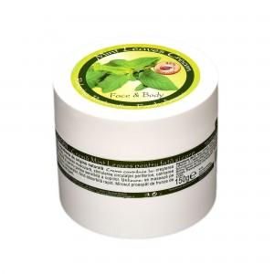 Cremă de față și corp Mint Leaves, 150 gr, Herbagen