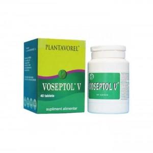 Voseptol V, 40 tablete, Plantavorel