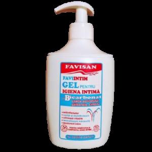 Gel pentru igiena intima cu bicarbonat 300ml, Favisan