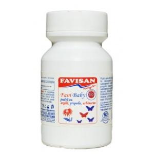 FaviDerm Baby Pudra cu Propolis 100g, Favisan