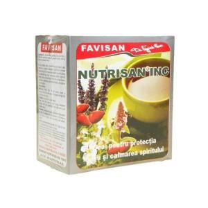 Ceai Nutrisan INC Insomnii 50g, Favisan