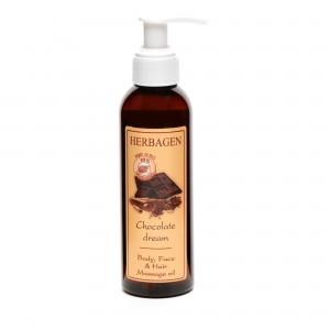 Ulei de masaj Chocolate Dream, 150 ml, Herbagen