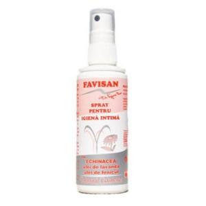 Spray pentru igiena intima 100ml, Favisan