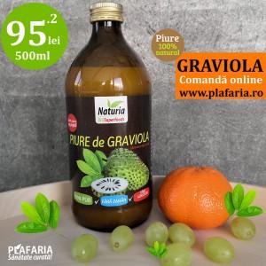 Suc / Piure de GRAVIOLA 500ml Naturia