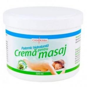 Cremă pentru masaj cu extract de alge marine 500 ml, Interherb