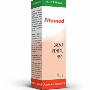 Fitomed Cremă pentru negi, 10 g, Interherb