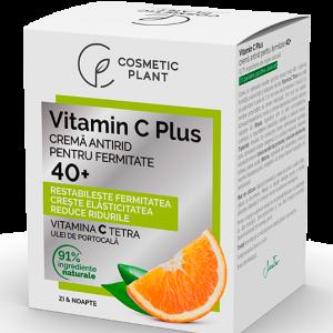 Cremă antirid pentru fermitate 40+ Vitamin C Plus, 50 ml, Cosmetic Plant