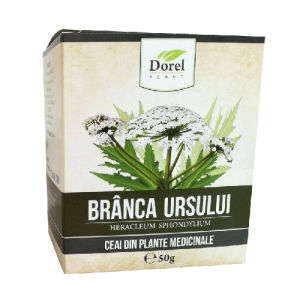 Ceai de Brânca ursului, 50g, Dorel Plant