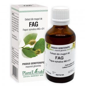 Extract din muguri de FAG - Fagus sylvatica MG=D1, 50 ml, PlantExtrakt