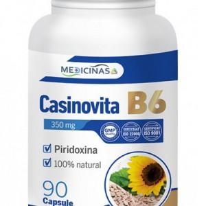 Casinovita B6 (Vitamina B6 sau Piridoxina), 90 capsule, Medicinalis