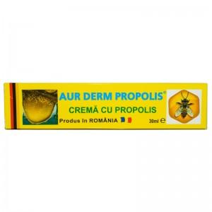 Crema Aur Derm Propolis, 30 ml, Laur Med Plant