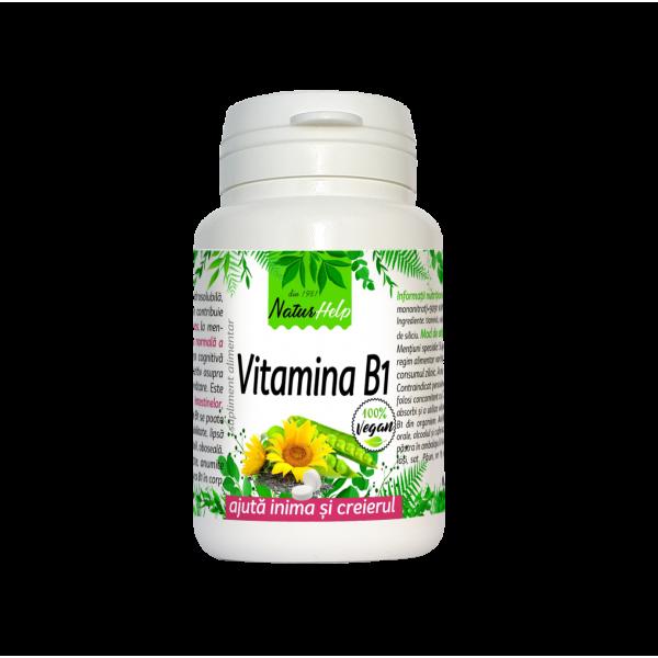 VITAMINA B1/TIAMINA 30 TAB VEGETALE NATURHELP