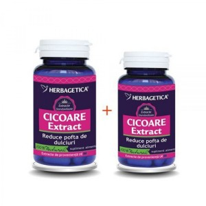 Cicoare extract 60 cps + 10 cps promo, Herbagetica