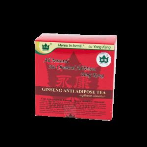 Ceai Antiadipos cu Ginseng, 30 plicuri, Yongkang International China