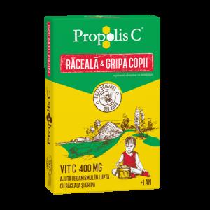 Propolis C® Raceala si Gripa Copii, 8 plicuri, Fiterman Pharma