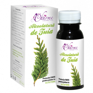 Alcoolatura de tuia, 100 ml, Charme Cosmetics