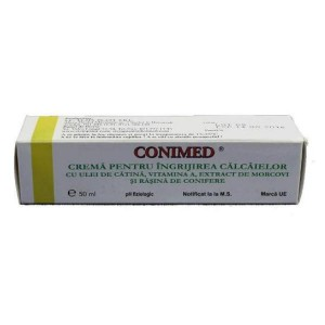 Crema pentru ingrijirea calcaielor Conimed, 50 ml, Elzin Plant