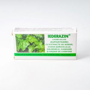 Iederazin crema solida (supozitoare) 10x1,5g, Elzin Plant