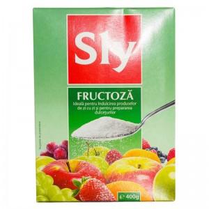 Fructoza indulcitor, 400 g, Sly Nutritia