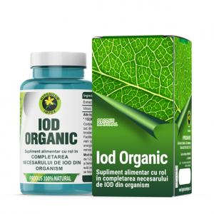 Iod Organic, 60 capsule, Hypericum