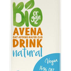 Lapte vegetal Bio din Ovaz, 1L, The Bridge