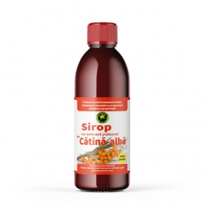 Sirop de Cătină Albă fără zahăr, 500 ml, Hypericum