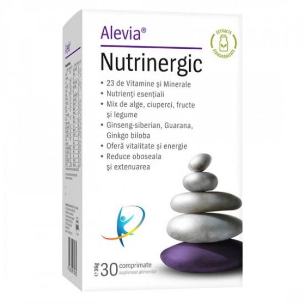 Nutrinergic, 30 comprimate, Alevia