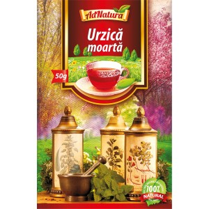 Ceai de urzica moarta, vrac 50g, AdNatura
