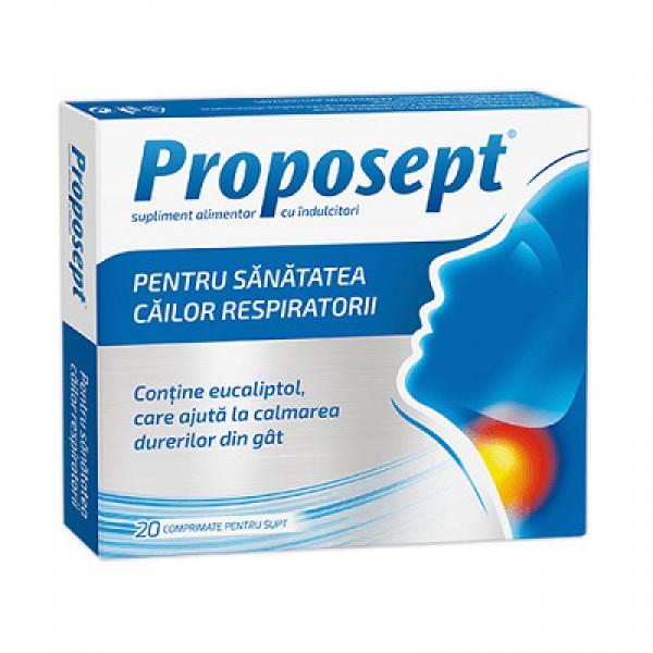Proposept, 20 comprimate pt supt, Fiterman Pharma