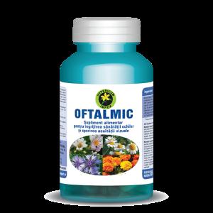 Oftalmic, 60 capsule, Hypericum